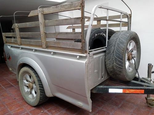 trailer plataforma tiro chevrolet