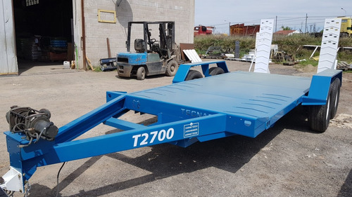 trailer playo  patentable tecnar  mt2700 3 ton p/auxilio