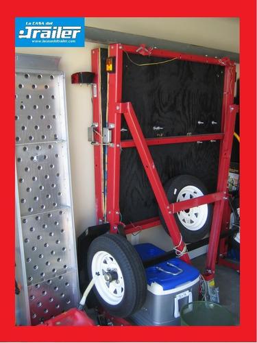 trailer plegable hasta 500kg. espacios reducidos