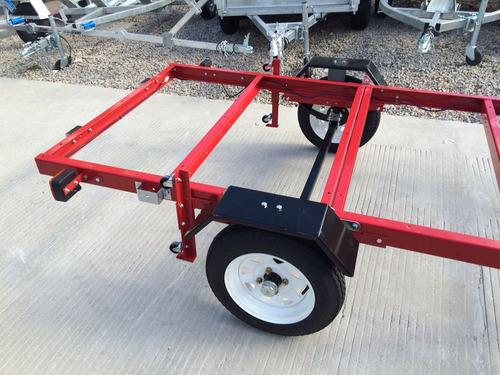 trailer plegable sin piso