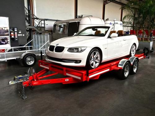 trailer porta auto homologado, patentable circule legalmente