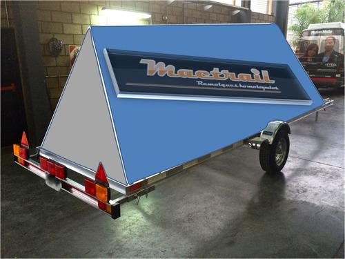 trailer publicitario homologado / patentable