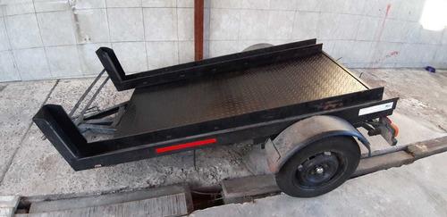 trailer + rampa