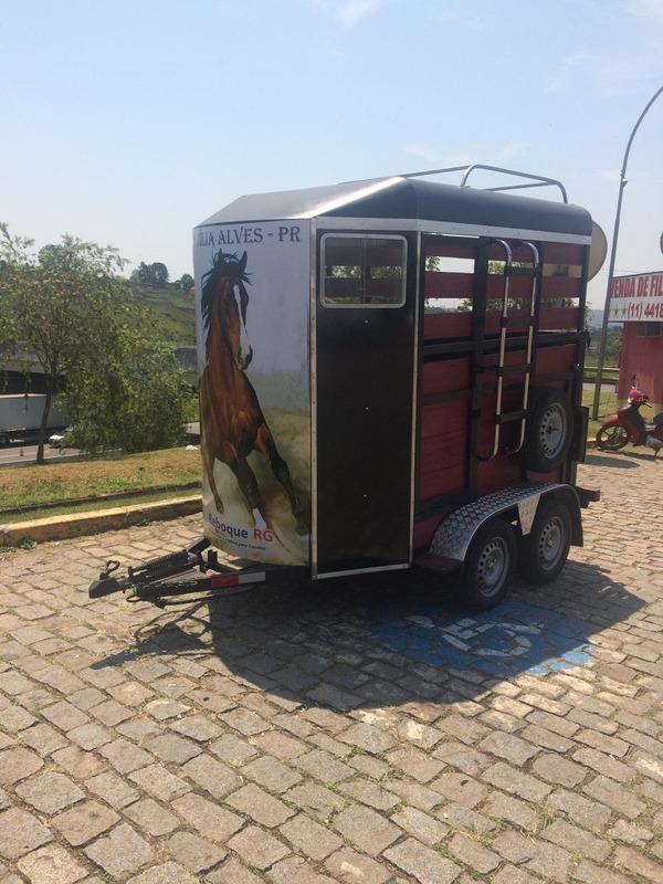 trailer reboque  dois cavalos 2015