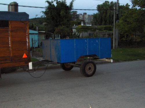 trailer reforzado con eje flotante