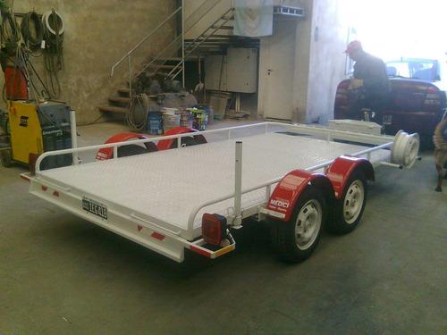 trailer reforzado para utv,arenero ,etc