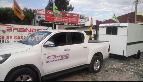 trailer rodantes brandsen  gastron/acerofood truck 4,00 mts.