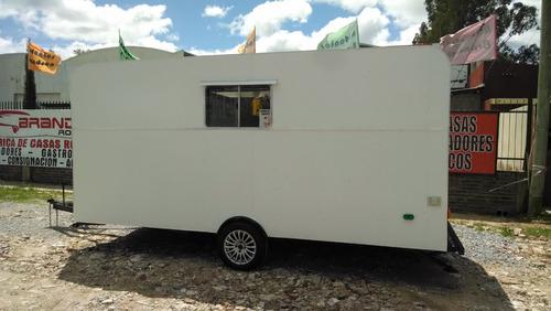 trailer rodantes brandsen gastronomico 1 eje 4,50 0km 2020