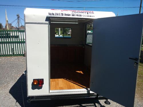 trailer rodantes brandsen gastronomico 3,00  un-eje
