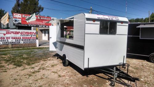 trailer rodantes brandsen gastronomico food truck 4,00