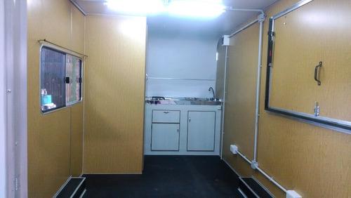 trailer rodantes brandsen gastronomico u oficina 4,00.mts