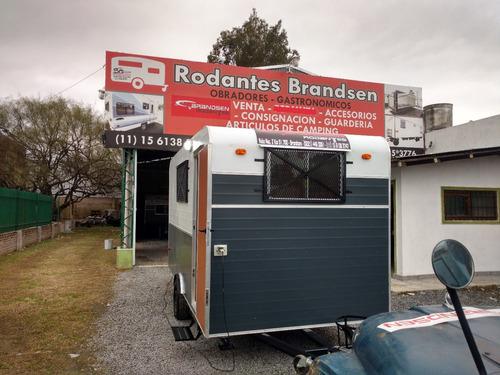 trailer rodantes  brandsen oficina o cas rural 4,00.mts