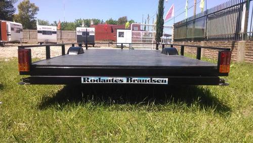 trailer rodantes brandsen plancha para todo uso.