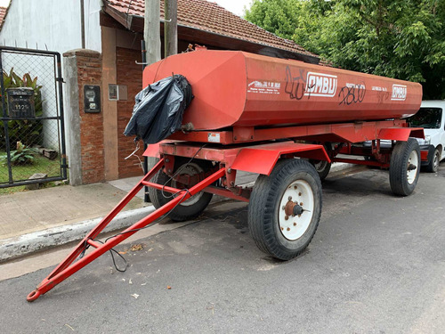 trailer tanque combustible