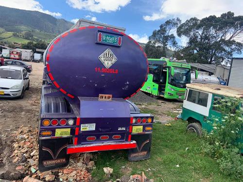 trailer tanque lámina negra marca waldos modelo 2012