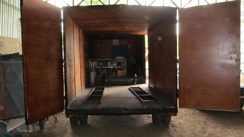 trailer tipo americano carro cerrado