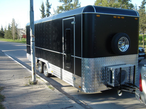 trailer tipo americano gastronomico carga