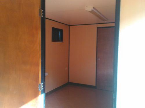 trailer tipo dormitorio y oficina.