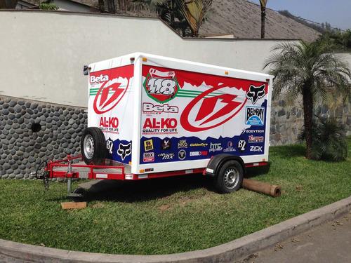 trailer tipo furgón