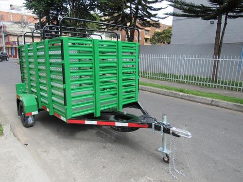 trailer tipo llanta sencilla