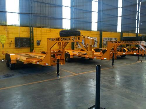 trailer tren de carga  3 y 5 t autos camionetas auxilio maq