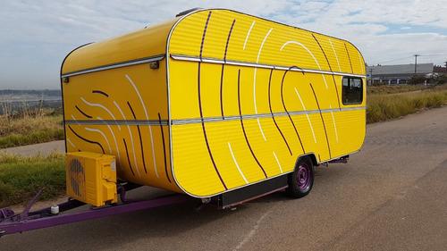 trailer turiscar escritório (unidade movel) motorhome- y@w2