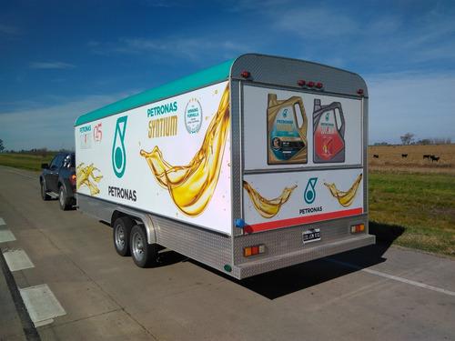 trailer venta alquiler publicidad promo evento movil foodtru