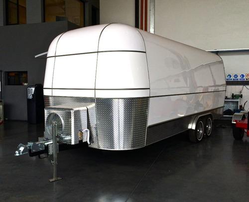 trailer vintage, promocional gastronomico, monterrey 100 air