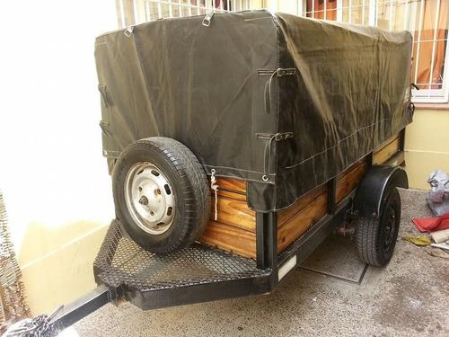 trailer/carro  completo ideal para mudanzas
