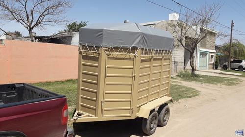trailers alquiler flete lancha, canoas, isopanel caballos