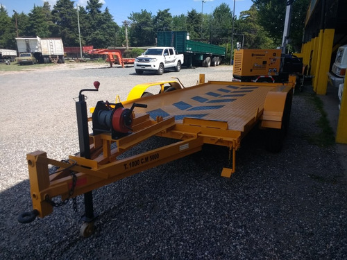 trailers auxilio , autoelevador , mini cargadora