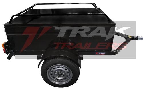 trailers batan con tapa el mas seguro es marca trak
