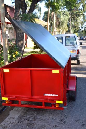 trailers batan de cargas generales 750kg