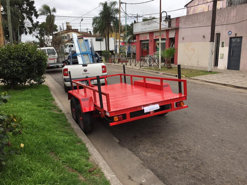 trailers batanes doble eje  cargas generales 3000kg