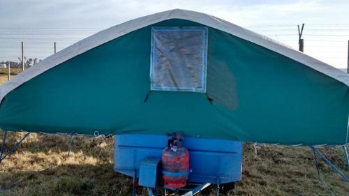 trailers carpa ridao, para 4 personas