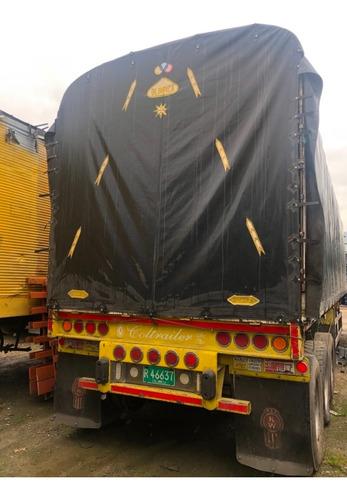trailers coltrailer mod 2007  3 ejes carroceria y carpa