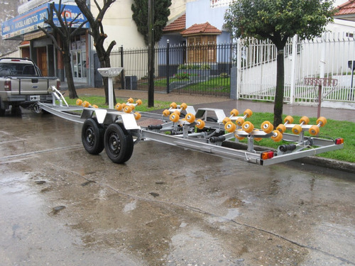 trailers de lujo para semirrigidos  de 5,2 mts full