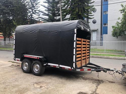 trailers ganadero y para todo tipo de carga