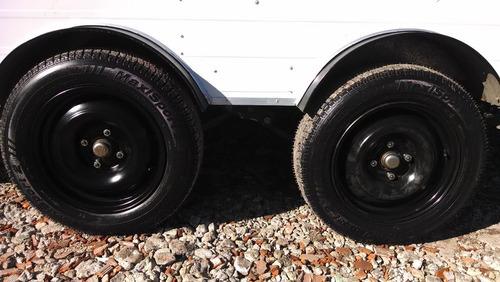 trailers gastronomico 4,50 mts d-eje balan rodantes brandsen