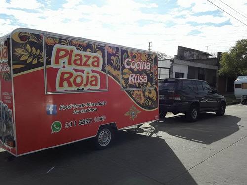 trailers gastronomico de 3 metros (somos fabrica)