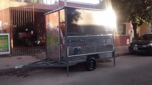trailers gastronomicos. carribar. carros gastronomicos