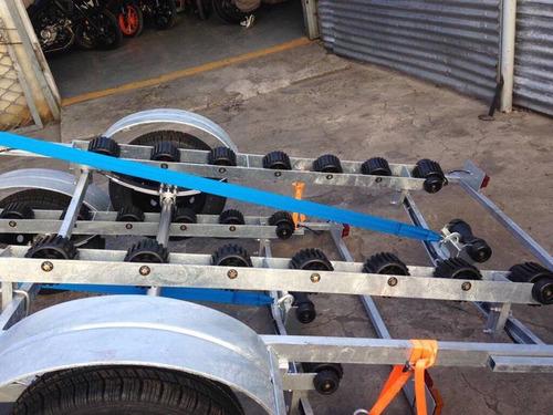 trailers náuticos galvanizados