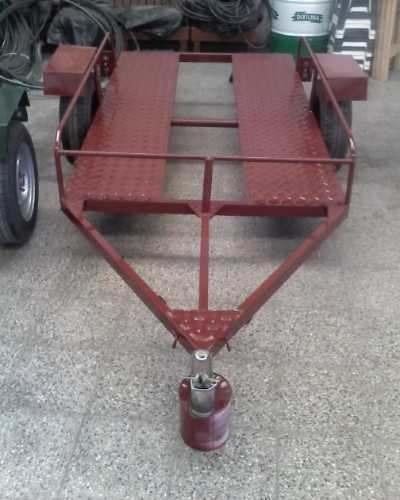 trailers - nuevos!!! caño 30x60x2 mm carga 450 kg