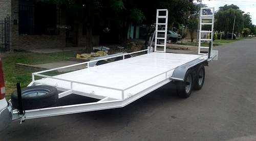 trailers para autos y caminetas alquiler x dia x semana