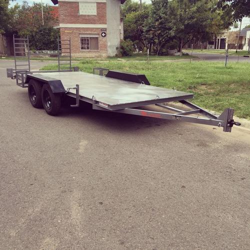trailers para auxilios y cargas generales.