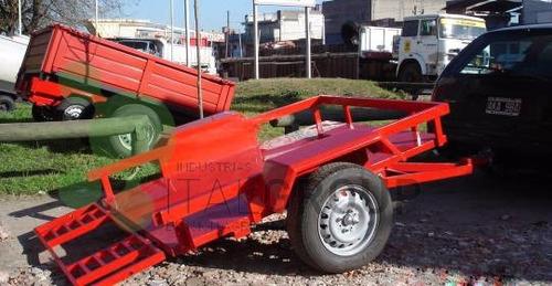 trailers para cuatri moto carga general