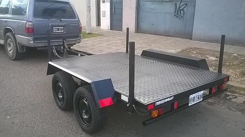 trailers para grupo electrógenos , moto bombas  playo. 900kg