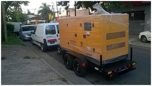 trailers  para grupos electrógenos( con frenos y cubiertas)