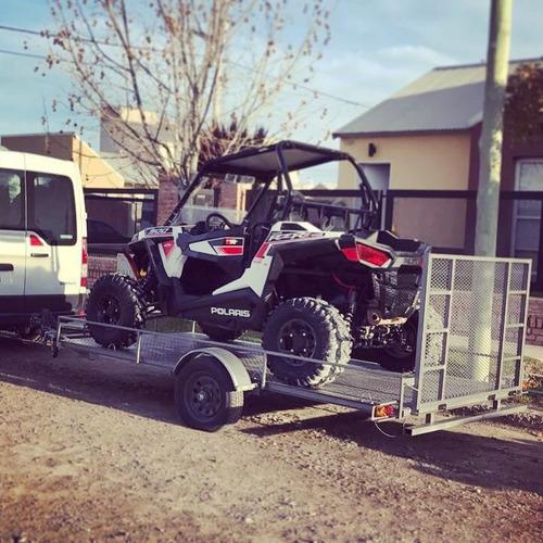 trailers para utv, atv, motos y kartings. patentables.