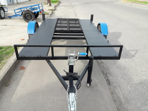 trailers plancha de un eje capacidad de carga hasta 1.5 tn